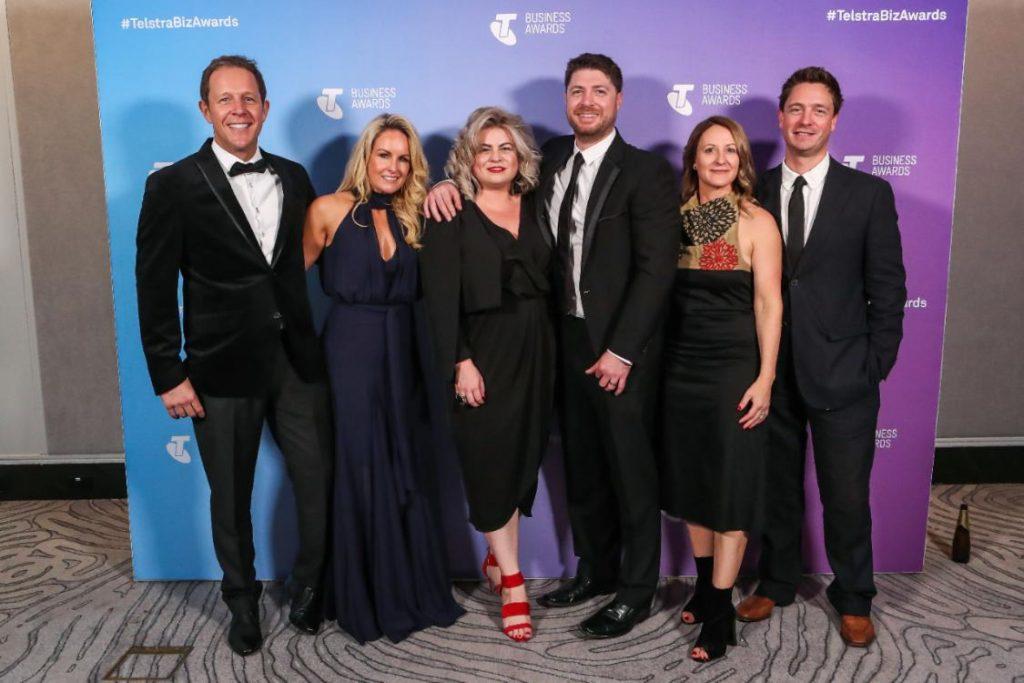 Designbx Telstra Business Awards Team