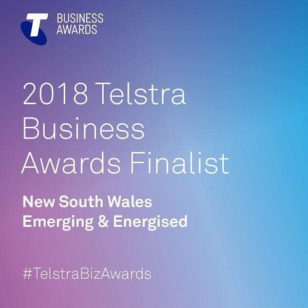 Designbx Telstra Business Awards Team State Finalist