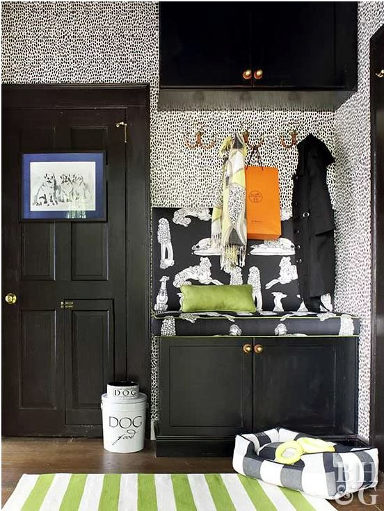 interior design with pets in mind dog station